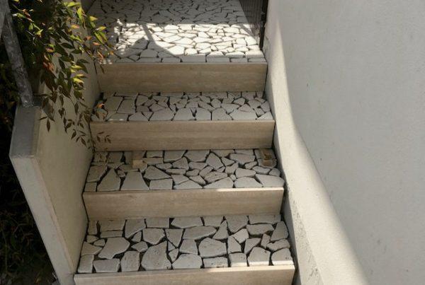 vialetto graniglia scale