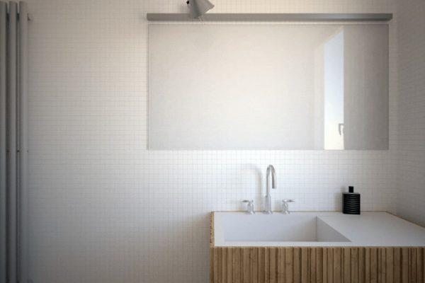 Bagno moderno vista 3