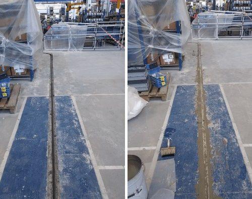 lavori pavimentazione industriale