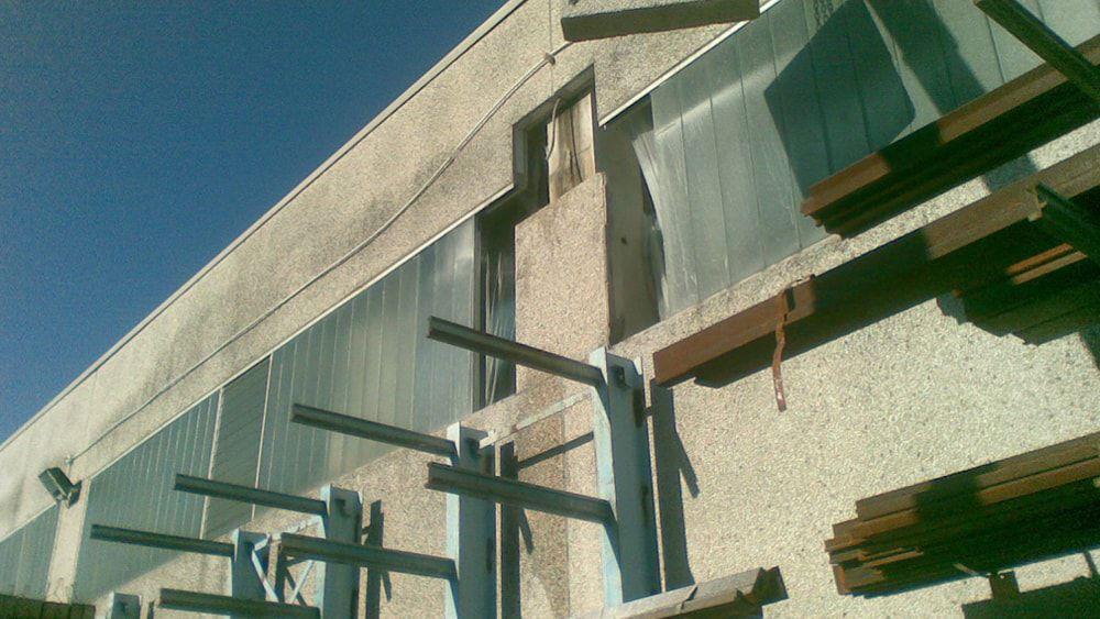 consolidamento strutturale capannone