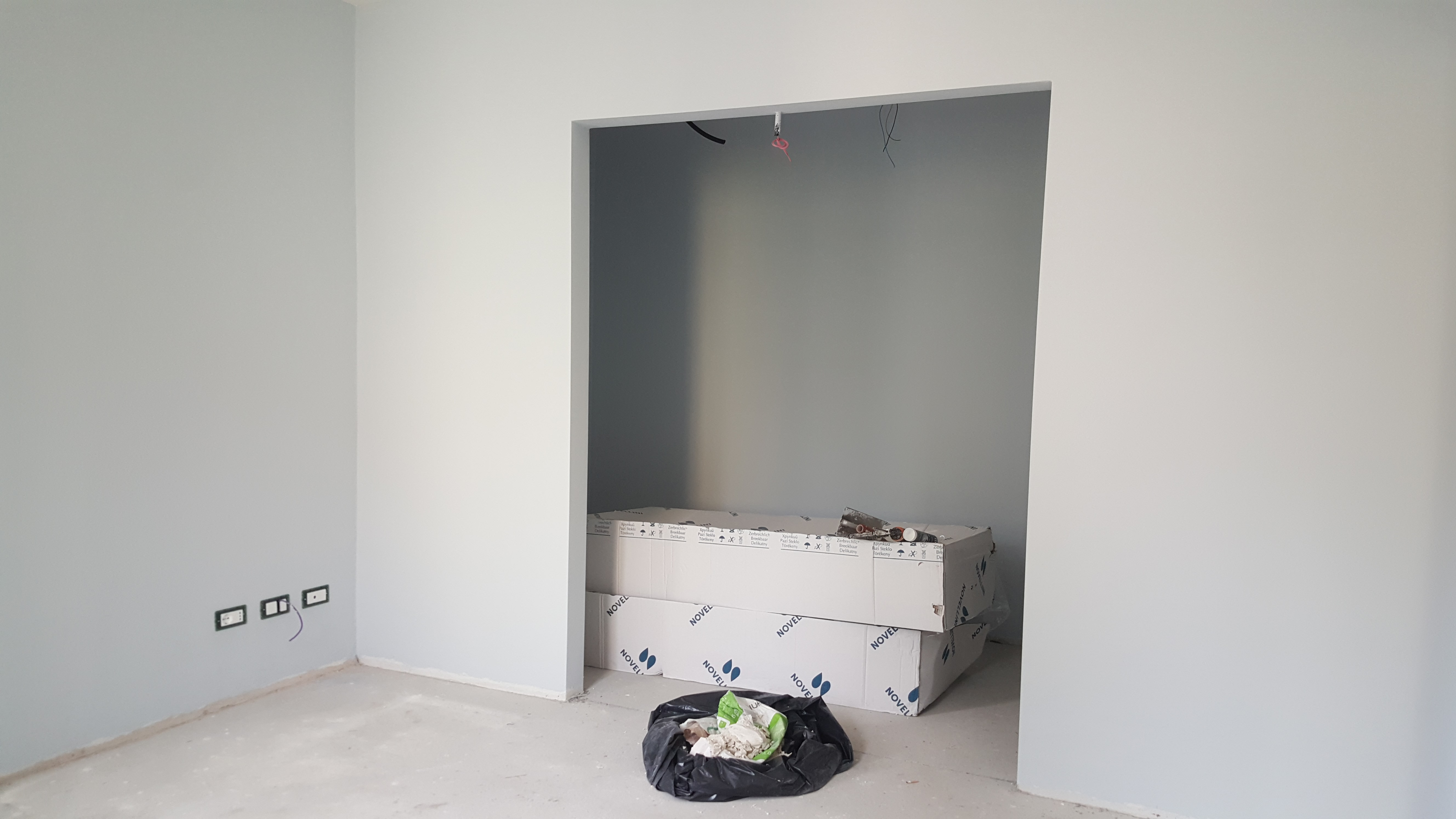 Ristrutturazione casa reggio emilia, cabina armadio