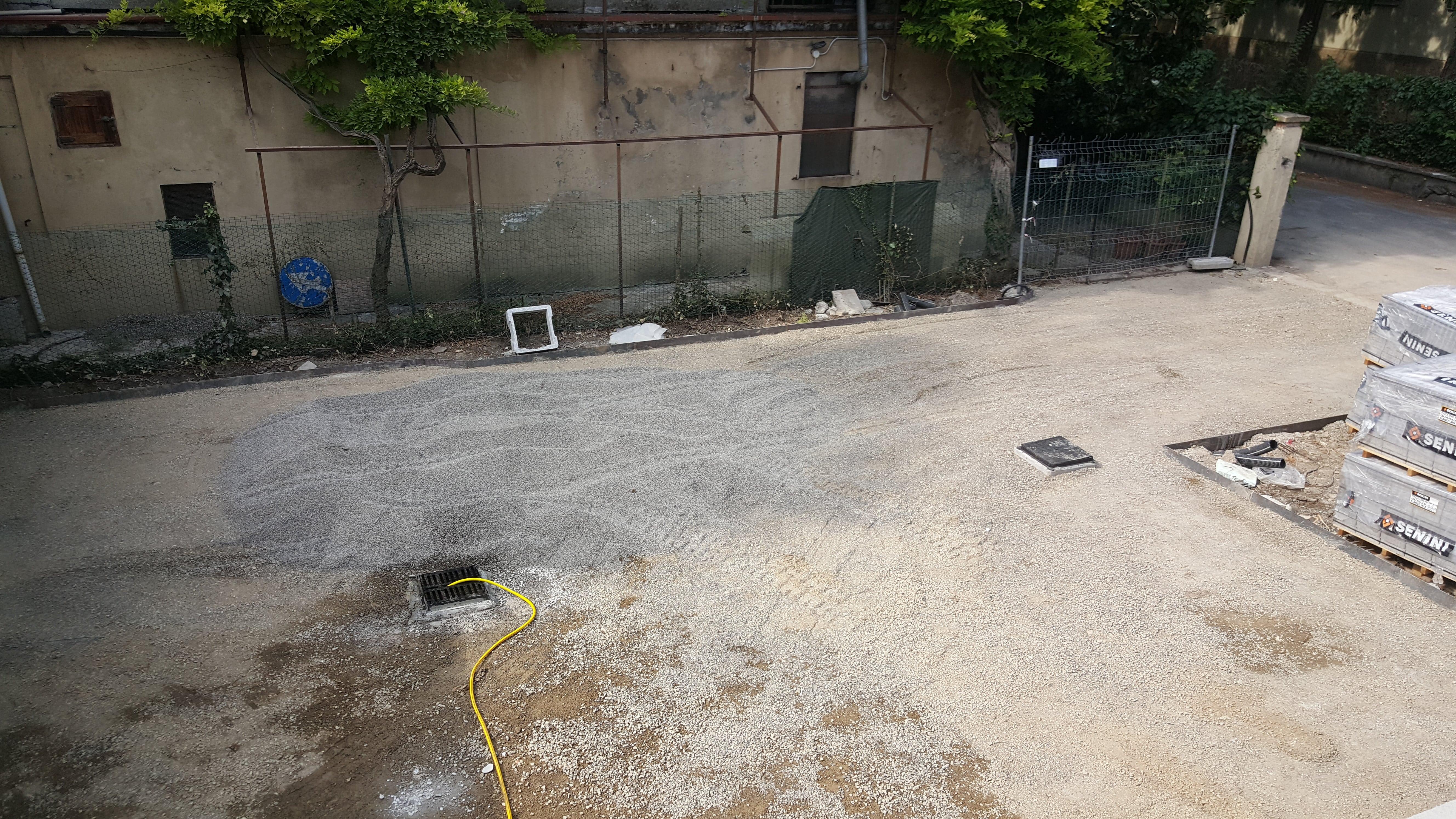 Ristrutturazione casa reggio emilia, parcheggio