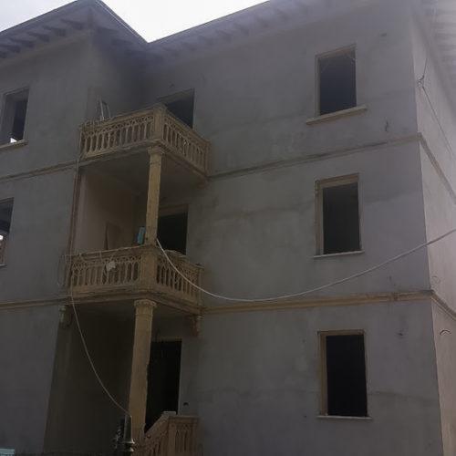 Ristrutturazione casa reggio emilia, facciata
